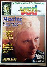 VSD n°106 du 13/9/1979; Mesrine-Tillier/ Jean Seberg/ R Charlebois/ Bobet