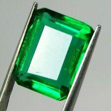 Loose Emerald Gemstone 9-10 Ct Certified Green Muzo Emerald