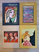 Horizon- A Magazine of the Arts 1965 Lot of 4 Books Complete Year