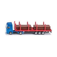 Siku 1659 MAN Holz-Transport-LKW blau (Blister) Modellauto NEU! °