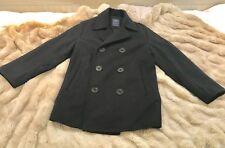 GAP KIDS Classic Peacoat Jacket Coat  Size X Large Regular Navy Blue Wool