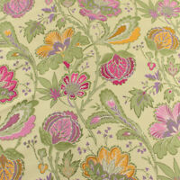 Blooming Flower Polyester Brocade Fabric floral Jacquard Garments by yard
