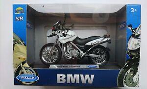 WELLY BMW F650 GS DAKAR 1:18 DIE CAST MODEL NEW IN BOX