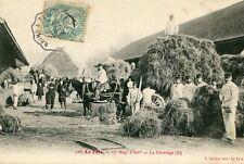 LA FERE 17 ème Régiment d'ARtillerie Le Fourrage Travaux agricoles pour soldats