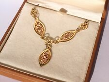 Clogau Welsh 9ct Yellow & Rose Gold Queen Eleanor Necklace