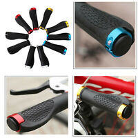 2pcs Bike Mountain Bicycle MTB Handlebar Rubber Handle Grips Anti-slip Device