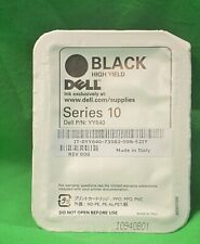 Dell Series 10 Black YY640 928 A928  High Yield  Genuine Original  Ink