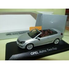 OPEL ASTRA H TWIN TOP CABRIOLET Gris MINICHAMPS 1:43