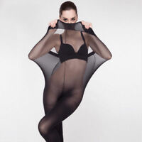 Women Sexy Bodyhose Pantyhose Tights Sick  Lingerie Holds Black/Skin set