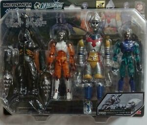Takara Hobby Megalon and Jet Jaguar Action Figure Microman series Set