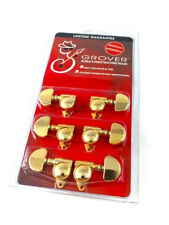"""Grover Gold """"Milk Bottle"""" Rotomatic Tuners for Gibson®/Epiphone® Guitar 102GV"""
