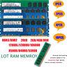 LOT Hynix 8GB 4GB 2GB DDR3/DDR2 12800/10600/8500/6400/5300 Desktop Memory RAM PC