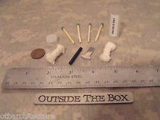 Emergency/Survival MINI Fire Starting Kit: Ferro Rod, Striker, Tinder & Matches