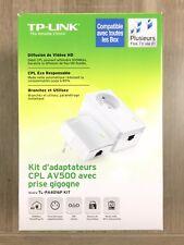 Kit Lot 2 Prise Adaptateurs CPL TP-Link AV500 TL-PA4016P 500 Mbits/s mo mb