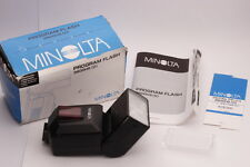 [Mint in Box] Minolta 3600HS Shoe Mount Flash with Manual Instruction Japan #194