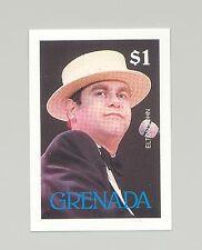 Grenada #1678 Music, Singer, Elton John 1v Imperf Proof
