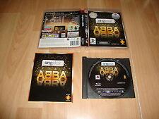 SINGSTAR ABBA PARA LA SONY PLAY STATION 3 PS3 USADO COMPLETO