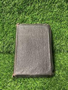 1901 ASV American Standard Version Holy Bible Gold Colored Edge Vintage Rare