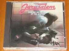 JERUSALEM - DANCING ON THE HEAD OF THE SERPENT - CHRISTIAN METAL - RARE 1988 CD