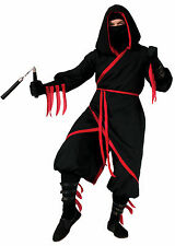Adult Deluxe Rogue Ninja Costume Assassin Warrior Japanese Cospaly Size Standard