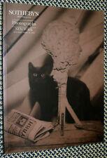 SOTHEBY'S PHOTOGRAPHS Catalog, MAPPLETHORPE, RITTS, MICHALS, ARBUS, LEVITT
