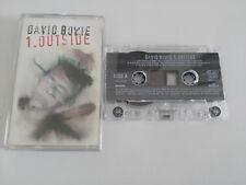 DAVID BOWIE 1. OUTSIDE NATHA ADLER DIARIES CASSETTE RUBAN ADHÉSIF CBS 1995