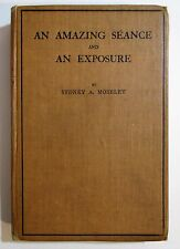RARE Antique 1919 AN AMAZING SEANCE AND EXPOSURE Occult Spiritualism Ghosts Book