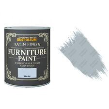 Rust-Oleum Bleu Ciel Satin Crayeux Craie Meuble Peinture Vintage Shabby Chic