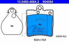 ATE Pastiglie Freno posteriore MERCEDES CLASSE C (w202 w203 s202 cl203) CLK (c209 a209)