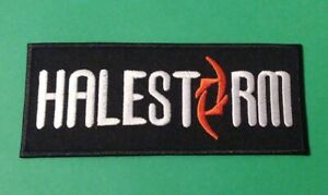 Halestorm Lzzy Hale Patch Punk Rock Heavy Metal Pop Music Sew/Iron On Badge
