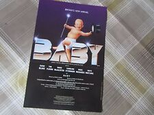 BABY Tim FLAVIN & Susie BLAKE 1990 Original BIRMINGHAM Theatre Flyer