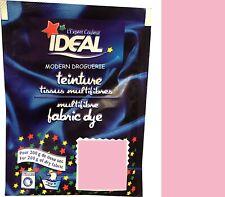 TEINTURE IDEAL TEXTILE TISSU VETEMENT ROSE coton lin laine polyamide