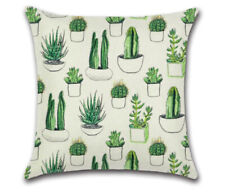 Cactus Pillowcase Green Plant Cushion Cover 45*45cm Cute Throw Pillow Home Decor