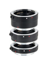 TTL Auto Focus AF Macro Extension Tube Lens Adapter Set for Canon EF/EF-S DC731