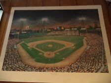 """FENWAY FASCINATION"" (Bucks County Artist Jerome J.Schmalz) Print   (Red Sox)"