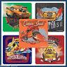 Disney Cars Stickers x 5 - Lightning McQueen - Speed Car - Hot Rod Cars Birthday