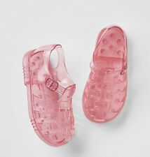 GAP Baby / Toddler Girl Size US  7 Pink Gladiator Rubber Jelly Water Beach Shoes