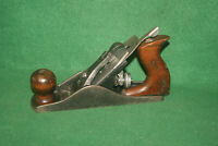 "Fine Clean Antique Vintage Worth  9-1/4"" Smooth Woodworking Plane Inv#NK30"