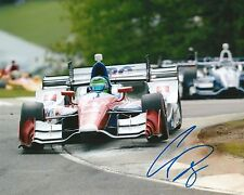 Conor Daly signed 8x10 photo Irl Indy with Coa