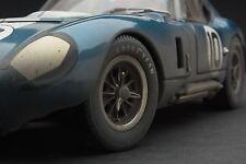 RACE WEATHERED | Exoto 1965 Cobra Daytona at Le Mans | 1:18 | #RLG18010BFLP
