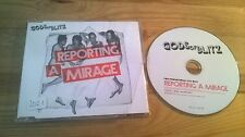 CD Punk Gods Of Blitz - Reporting A Mirage (12 Song) Promo SONY / BMG sc