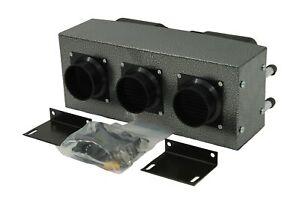 High Output AH545 Heater 30,000 BTU Heater 12 Volt Ag Bus Vans Boat Dual Fan
