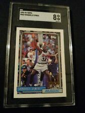 1992-93 Topps Shaquille O'Neal #362 SGC 8 Rookie Mint Graded RC Shaq