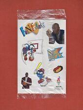 MICHAEL JORDAN Stickers BALL PARK Brand FUN FRANKS 1996 Olympic Games NEW SEALED