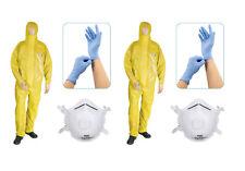 2 x Chemieschutzanzug XXL Typ 3B +FFP3 (Chemikalienschutzanzug Feuerwehr CSA)