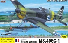 Admiral Models 1/48 Morane Saulnier MS 406C-1 Fighter Model Kit 4806