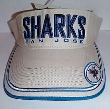 San Jose Sharks Vintage Visor NWT Authentic  Drew Pearson