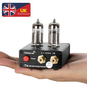 Mini MM Valve Tube Phono Stage Preamp HiFi Turntable Amplifier for Record Player