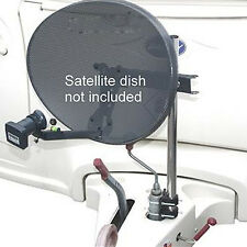 Parabole satellite/antenne portable mât/support roue jockey kit-caravane camping