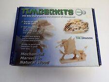 The Dragon -Timberkits Wooden Construction Moving Automaton Model Kit
